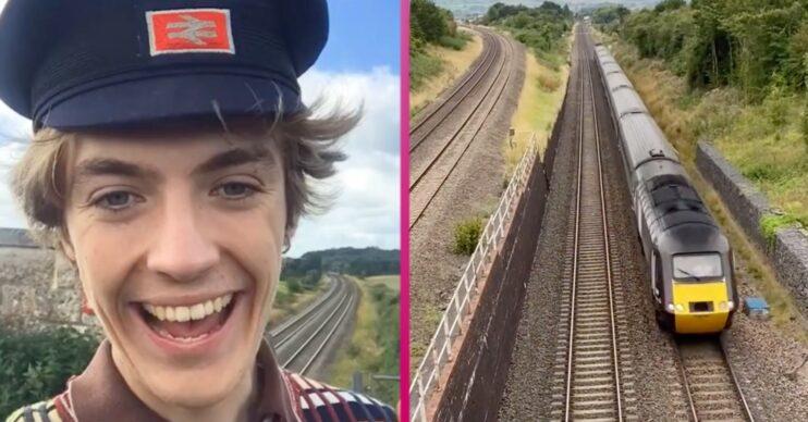 TikTok trainspotter Francis Bourgeois is winning over fans beyond social media