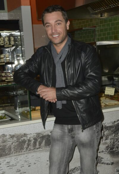 Gino D'Acampo at celebrity event - how many children does he have?