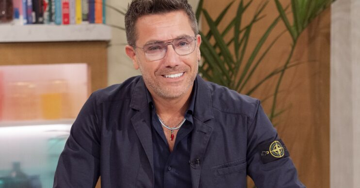Gino D'Acampo smiling on This Morning