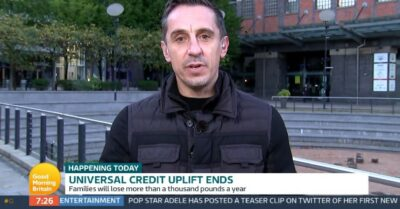 Gary Neville debates with Edwina Currie on GMB