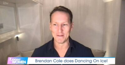 Brendan cole is a contestant on Dancing On Ice 2022
