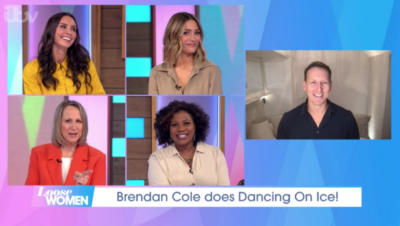 Brendan Cole appeared on Loose Women to talk about Dancing On Ice