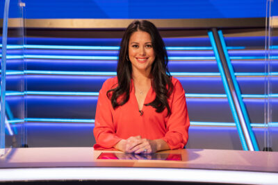 Sam Quek has announced she's pregnant with her second child