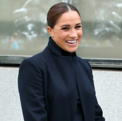 Meghan Markle smiles during outing in New York