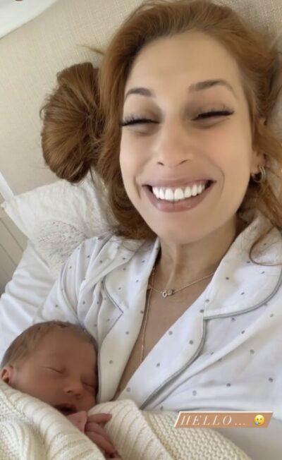 Stacey Solomon baby