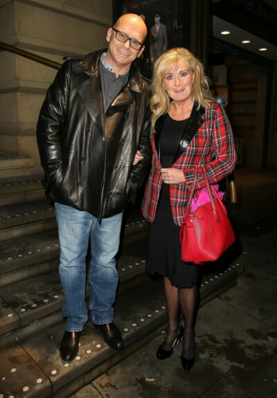 Beverley Callard and her husband Jon