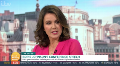 Susanna Reid on GMB was questioned about her own salary
