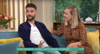 Who is Tom Parker? Tom talks about his brain tumour on This Morning