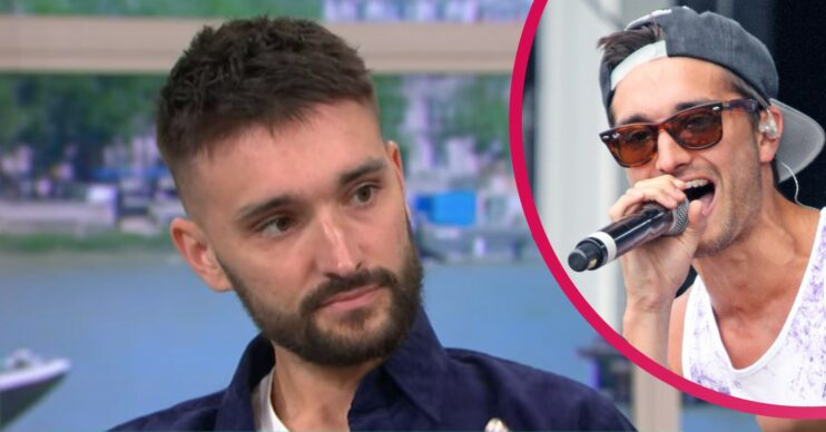 Who is Tom Parker and when was he diagnosed with a brain tumour?