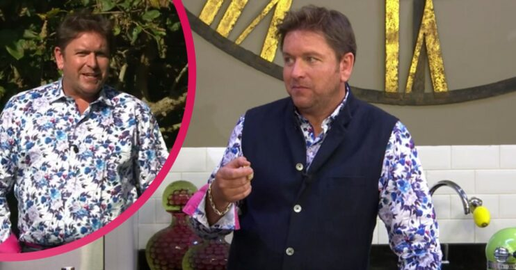 Was James Martin a fan of the shirt he wore?