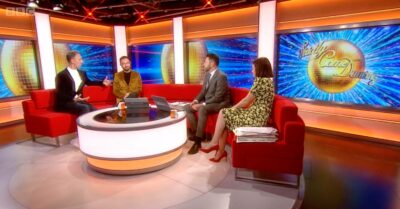 Ian Waite and Vincent Simone were on hand to chat about Strictly
