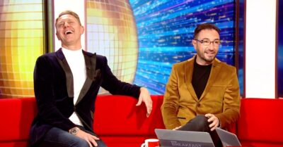 Former Strictly Come Dancing stars Ian Waite and Vincent Simone were involved
