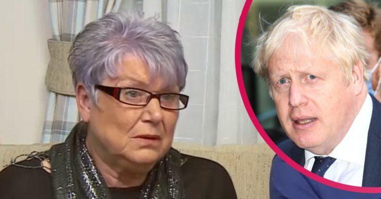 Gogglebox Jenny and Boris Johnson