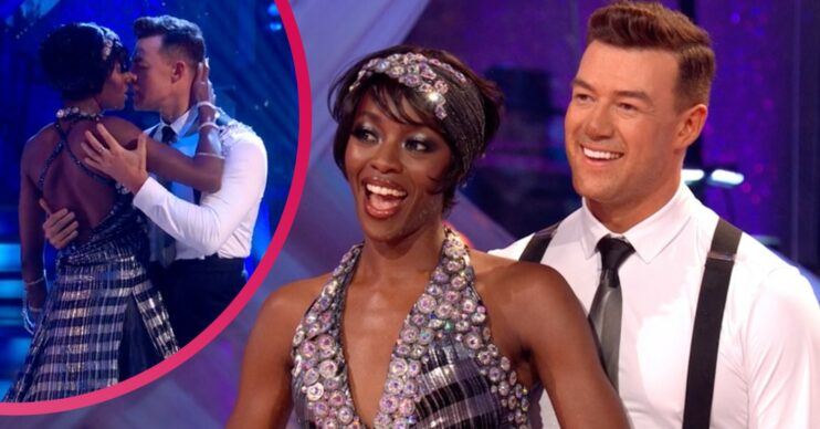 AJ Odudu and Kai Widdrington wowed with their American Smooth on Strictly