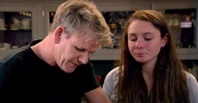 Gordon Ramsay with daughter Megan Ramsay