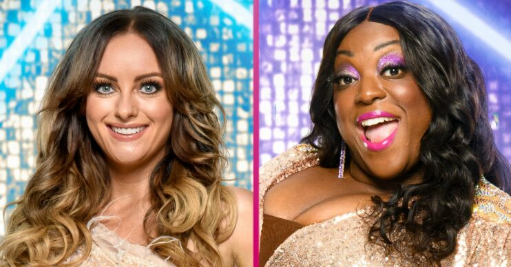 Strictly Come Dancing Katie McGlynn and Judi Love