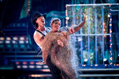 Strictly Come Dancing Graziano and Judi Love dance the Charleston