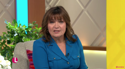 Lorraine opened up about her own miscarriage on today's show