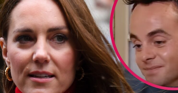 Kate Middleton and Ant McPartlin