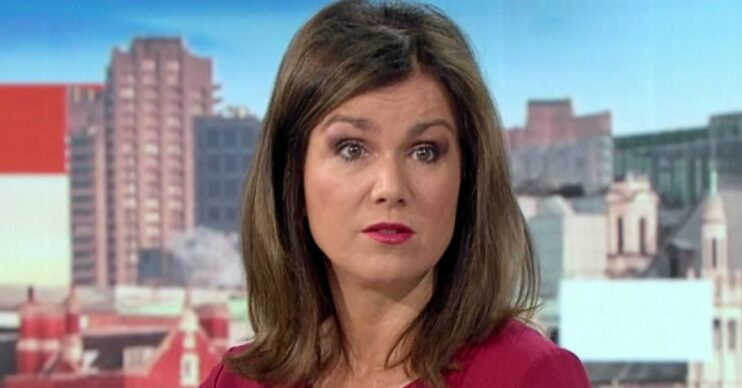 Susanna Reid and Richard Madeley on today's GMB