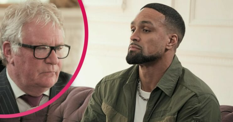 Jim Davidson walked out of an interview with Ashley Banjo