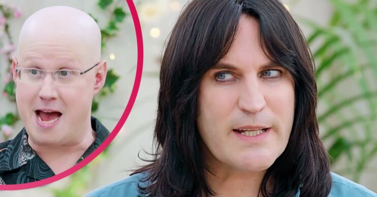 Viewers were mystified when Noel failed to show to host the showstopper on Great British Bake Off