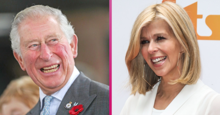 Kate Garraway revealed the news that Prince Charles wrote her a letter last year