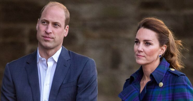 William and Kate holiday