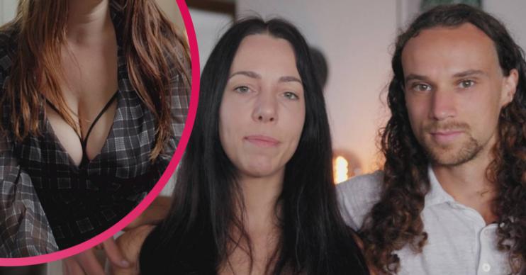 Lana Michaels and Shawn from Channel 4 documentary Breastfeeding My Boyfriend