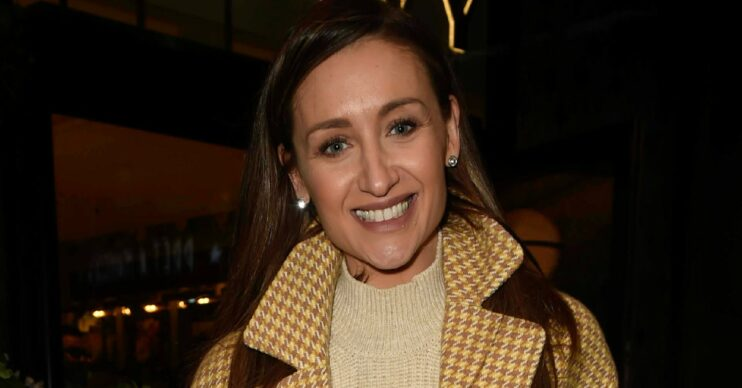Catherine Tyldesley at The Ivy