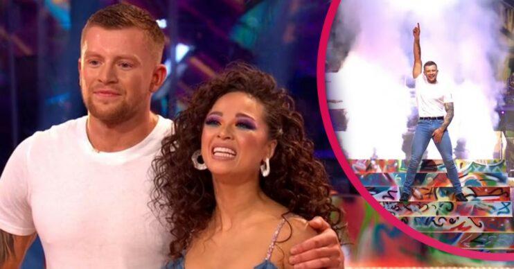 Adam Peaty and Katya Jones on Strictly Come Dancing