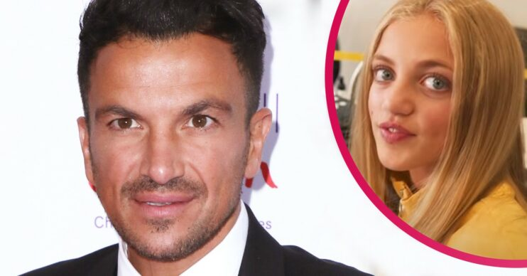 Peter Andre's daughter Princess Andre on Instagram