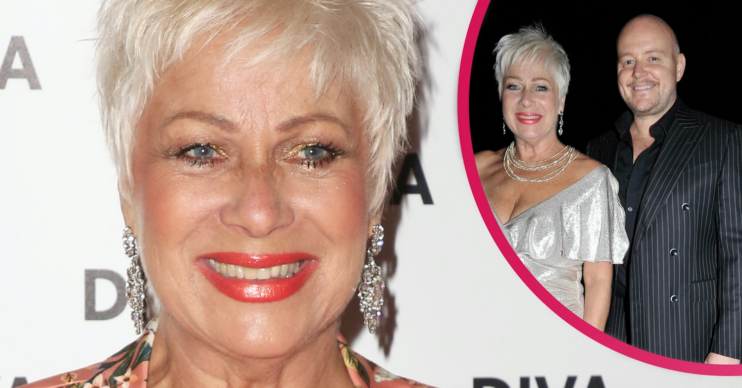Denise Welch said she was relieved as a stalker was due for sentencing today
