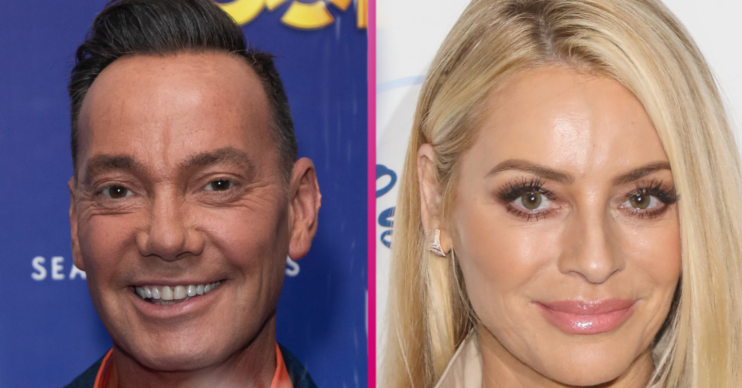 Craig Revel Horwood and Tess Daly on Strictly Come Dancing