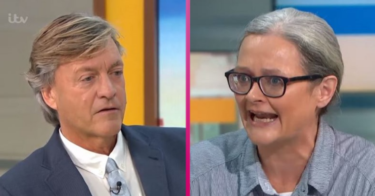 Insulate Britain guest during interview on Good morning Britain