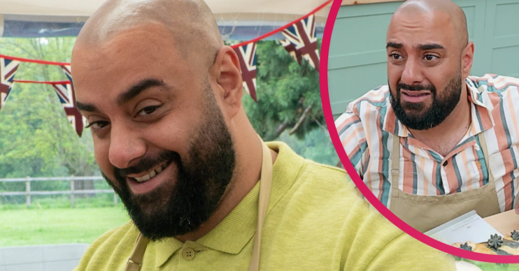 Bake Off star George took to Instagram to address online abuse
